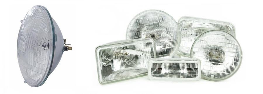 Sealed Beam Headlamps