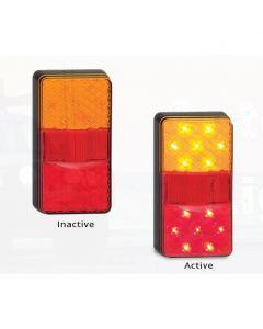 LED Autolamps 150BAR Stop/Tail/Indicator & Reflector Combination Lamp (Bulk Boxed)