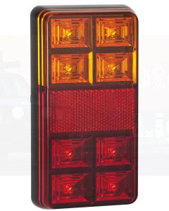 LED Autolamps 151BAR2 Stop/Tail/Indicator & Reflector Combination Lamp (Twin Blister)