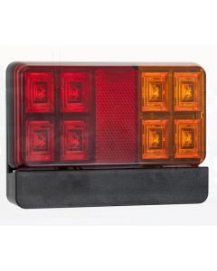 LED Autolamps 151BARLP2 Stop/Tail/Indicator/Reflector/Licence Combination Lamp (Twin Blister)