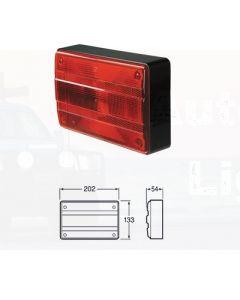 Hella 2320 Designline 12V Stop Rear Position Lamp with Inbuilt Reflector