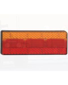 LED Autolamps 275BAR Stop/Tail/Indicator/Reflector Combination Lamp - White PCB (Bulk)