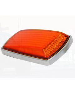 LED Autolamps 3102CM Side Direction Indicator - Chrome Bracket (Single Bulk Box)