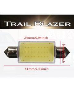 41mm LED COB Festoon Globe 12VDC 100 Lumens Pure White