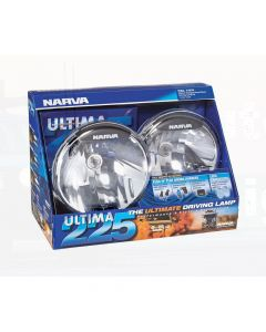 Narva 71670 Ultima 225 Broad Beam Driving Lamp Kit 12 Volt 100W 225mm dia Blister Pack