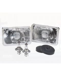 Narva 72068 H4 165 x 100mm 12V 60/55W High/Low Beam Halogen Headlamp Conversion Kit