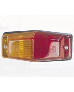 Narva 85750BL Side Marker Lamp (Red/Amber) - Blister Pack