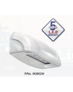 Narva 90862W 10-30 Volt L.E.D Licence Plate Lamp in White Housing with 0.5m Cable