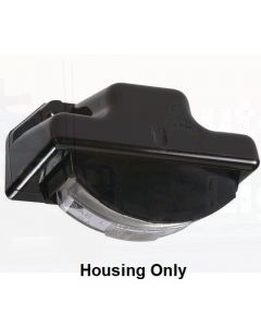 Narva 91585 Black Licence Plate Lamp Housing to Suit Model 15 Lamps