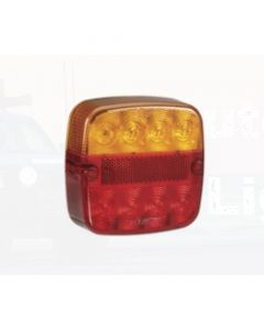 Narva 93406BL 12 Volt L.E.D Rear Stop/Tail, Direction Indicator with Licence Plate Lamp, 0.5m Cable (Blister Pack)