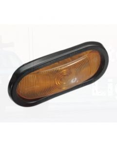 Narva 96032 12 Volt Sealed Front Direction Indicator Lamp Kit (Amber) with Vinyl Grommet