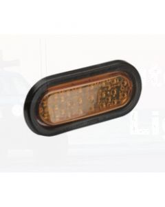 Narva 96052 12 Volt L.E.D Side Direction Indicator Lamp Kit (Amber) with Vinyl Grommet
