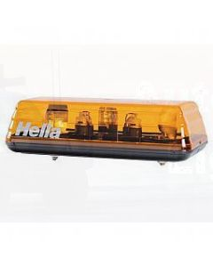 Hella Mini Light Bar - Amber, 12V DC