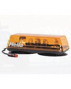 Hella Mini Light Bar with Magnetic Mount - Amber, 12V DC (1811MAGA)