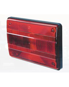 Hella Designline Stop/ Rear Position Lamp - Inbuilt Retro Reflector (2321)