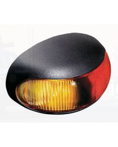 Hella DuraLED Nylon Side Marker - Red / Amber Illuminated (2053GMD)