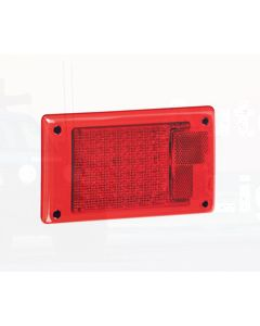 Hella Jumbo LED Stop / Rear Position Module - Inbuilt Retro Reflector (2317)