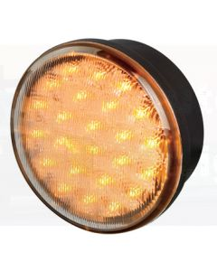 Hella LED Front Direction Indicator - Amber Illuminated (Pack of 10) (2107CLRBULK)