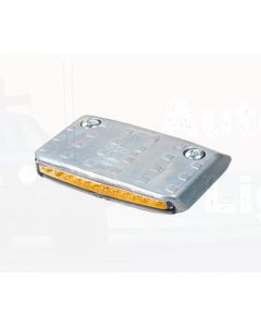 Hella LED Lift Platform Rear Direction Indicator - Amber Illuminated, 24V DC (2103-24V)