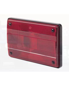 Hella Designline Stop/ Rear Position Lamp - Inbuilt Retro Reflector (2321PC)