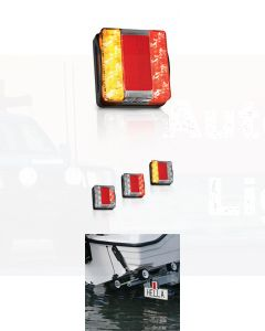 Hella Submersible LED Rear Combination Lamp - 9.0mCable (Pack of 12) (2394-9MBULK)
