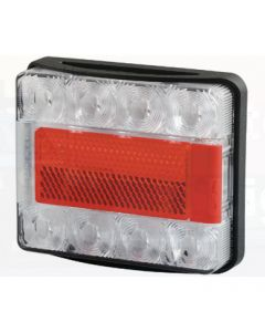 Hella Submersible LED Rear Combination Lamp with Licence Plate Function - 0.5m Cable (2395)