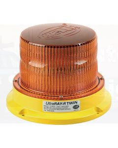 Hella Mining HM500ADIR UltraRAY-R Twin Amber LED Warning Beacon