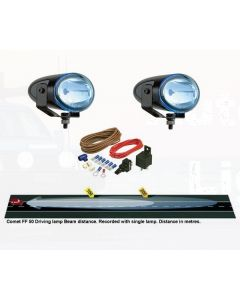 Hella 5613BLUE Comet FF 50 Series Blue Driving Lamp Kit