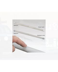 LED Autolamps 10121/24SW Interior Strip Lamp - Clear Lens, 600mm, 24V (Single Blister)
