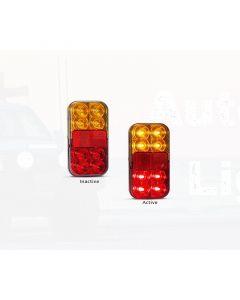LED Autolamps 149BAR Stop/Tail/Indicator/Reflector Combination Lamp (Bulk Single)