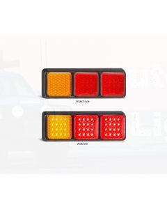 LED Autolamps 282ARRMB Stop/Tail/Indicator Combination Lamp (Bulk)