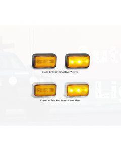 LED Autolamps 58AM Side Direction Indicator Lamp (Blister Single)