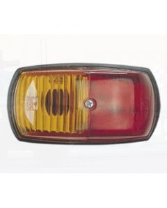 Narva 85760 12V Side Marker Lamp (Red / Amber)