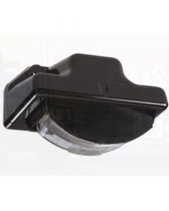 Narva 91540 24 Volt Sealed Licence Plate Lamp Kit in High Impact Plastic Housing (Black Body)