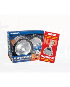 Narva 71758HID Extreme H.I.D Broad Beam Driving Lamp Kit 12 Volt 50W - Broad Beam
