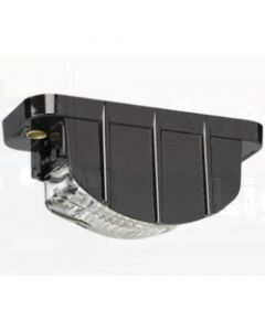 Narva 91683 9-33 Volt 5 L.E.D Licence Plate Lamp in Low Profile Black Housing and 2.5m Cable