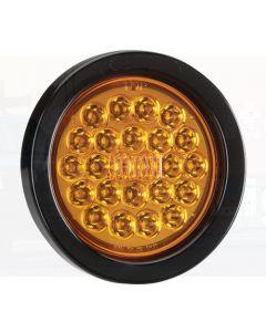 Narva 94042 9-33 Volt L.E.D Rear Direction Indicator Lamp Kit (Amber) with Vinyl Grommet