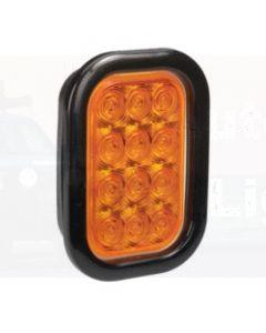 Narva 94530 9-33 Volt L.E.D Rear Direction Indicator Lamp Kit (Amber) with Vinyl Grommet, Plug & Leads (Blister Pack)