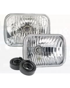 Narva 72026 H4 200 x 142mm 12V 60/55W High/Low Beam Free Form Halogen Headlamp Conversion Kit