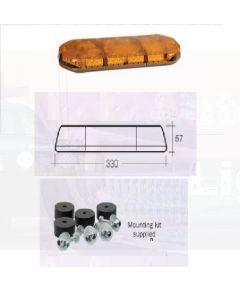 """Narva Legion 12 Volt 0.9m (36"""") Light Bar (Amber) with 12 L.E.D Modules - In-built Alley Lights (85020A-AL)"""