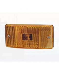 Narva 87140 Side Marker Lamp (Amber) with In-built Retro Reflector