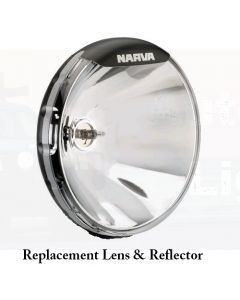 Ultima 225 Pencil Beam Driving Lamp Replacement Lens and Reflector