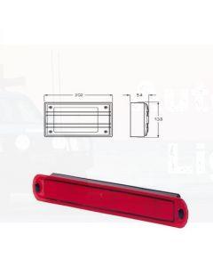 Hella Matrix LED Stop/ Rear Position Lamp - Red, 12V DC (2334)