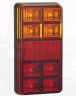 LED Autolamps 151BAR Stop/Tail/Indicator & Reflector Combination Lamp (Bulk Boxed)