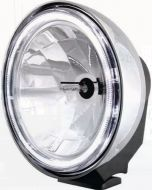 Xray Vision 200 Series Chrome Spread Beam HID - 50W (Clear Lens)