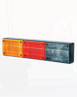 Hella 2424LED-H Designline Triple LED Horizontal Mount Combination Lamp