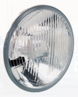 Hella Halogen Headlamp High / Low Beam Insert - Heavy Duty, 178mm (1058HD)