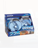 Narva 71680BE Ultima 225 Blue Pencil Beam Driving Lamp Kit 12 Volt 100W 225mm dia - Blister Pack