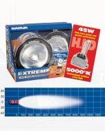 Narva 71764HID Extreme H.I.D Broad Beam Driving Lamp Kit 12 Volt 50W Chrome Mount