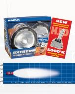 Narva 71764HID-24 Extreme H.I.D Broad Beam Driving Lamp Kit 24 Volt 50W Chrome Mount